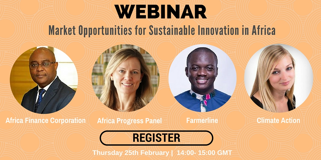 Market Opportunities for Sustainable Innovation in Africa